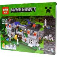 Конструктор Lepin 18005 Крепость 4 в 1, копия Lego 21127 Minecraft