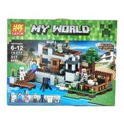 Конструктор Lepin 18013 Береговая цитадель My harbor dock, копия Lego Minecraft