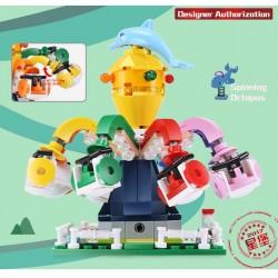 Конструктор XINGBAO xb01108 Карусель детская Spinning Octopus