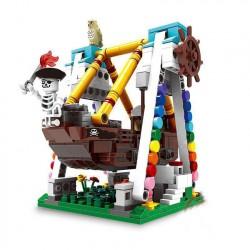 Конструктор XINGBAO xb01109 Парк развлечений: Пиратская лодка