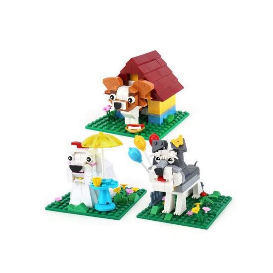 Конструктор XINGBAO XB-18002 The Funny Brick Cuty Puppy