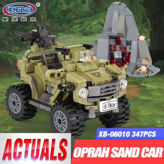 Конструктор XINGBAO XB-06010 Военный квадроцикл The Oprah Sand Car