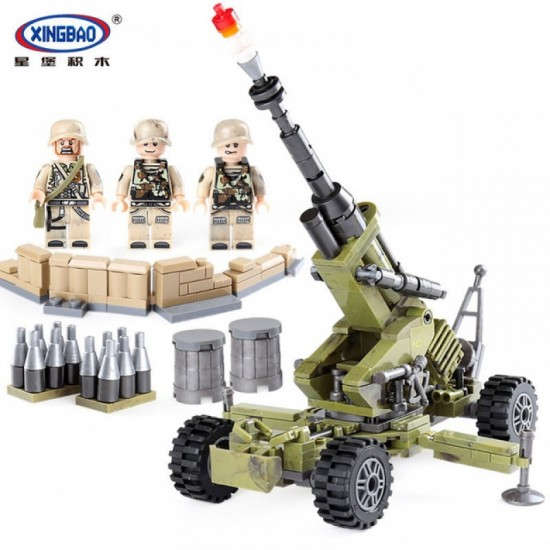 Конструктор XINGBAO XB-06011 Военная артиллерия Скорпион The Scorpion Cindy Cannon