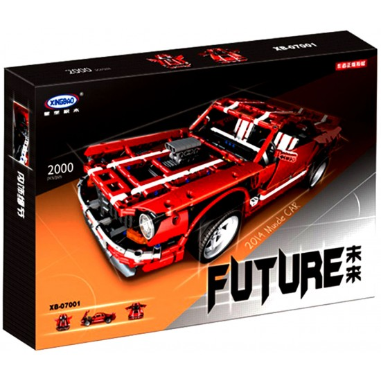 Конструктор XingBao xb-07001 The 2014 Muscle Car — Красный Ford Mustang GT, серия Technic